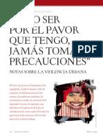 """Carlos Monsiváis, """"Radiografía de la impunidad"""""""