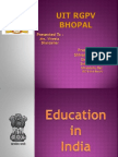 edication system in india