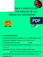 Agronomia y Agricultura
