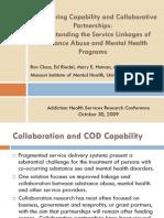 Claus.ahsr 2009.Collaborative Partnerships and COD Capability