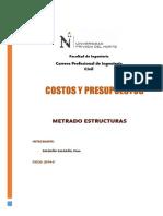 PROYECTO - COSTOS