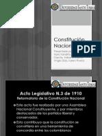 Exposicion de Legislacion Terminada