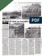 """EL BARCO QUE SE HUNDIÓ EN CAMANÁ. EL """"TUCAPEL"""", DE REALIDAD A LEYENDA."""