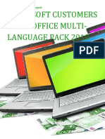 Microsoft Customers using Office Multi-Language Pack 2010 - Sales Intelligence™ Report