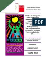 Informe Final Del Estudio de Percepción Sobre ECOSF 2011 Impresión