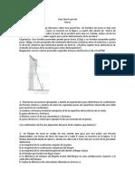 Guía Tercer Parcial Físca I