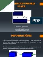 Deformacion Unitaria Plana
