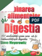 Steve Meyerrowitz - Combinarea Alimentelor Si Digestia