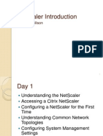 Net Scaler Introduction