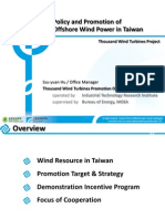 140501#130-5b Policy and Promotion of Offshore Wind Power in Taiwan_更新場址&設置量