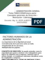 Separata 9 Tema Direccion Motivacion y Liderazgo