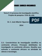 Investigação No Continente Africano