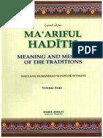 Maariful Hadith - English - Vol 4