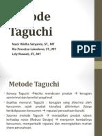 Metoda Taguchi