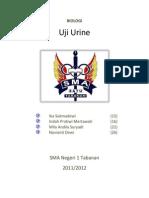 Uji Urine