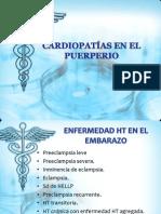Cardiopatías en El Puerperio