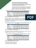 Preselección Del Mercado de Destino Para La Exportación de La Harina de Lucuma Peruana