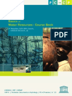 Basic Water Resource Course Book UNESCO