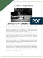 Los Préstamos de Capital Privado