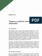 Cap 27- Terpenos y Productos Naturales dos