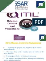 RCV (Release, Control & validation)--PDF