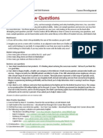 Case Interview Questions 2012 13