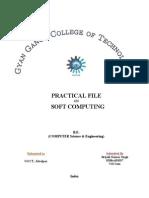 Soft Computing Practicals