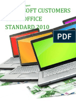 Microsoft Customers using Office Standard 2010 - Sales Intelligence™ Report