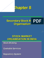Ch 8 PMO Secondary Stock Market Organisation
