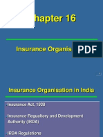 Ch 16 Insurance Organisation