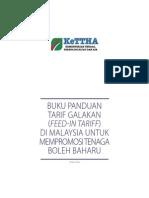 FiT Handbook in Malaysia - Malay Language