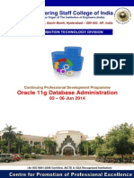 Oracle 11g Database Administration Brochure 02 - 06 Jun 2014