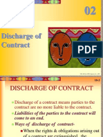 Discharge of Contract L 4