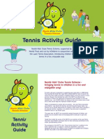 Tennis Activity Guide for Kids