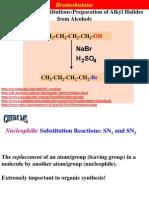 CHEM245.Lecture 9 Bromobutane 2014