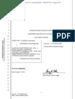 Apple v Samsung Jury Instructions Docket 1842