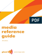 GLAAD Media Reference Guide 2010