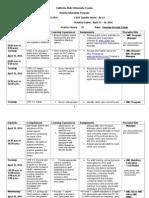 uhc rotation schedule 2013-2014- jl