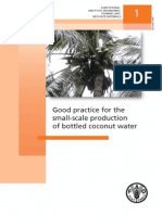 Good Practice for Coconut Water