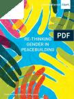 Gender Rethinking, Gender Peacebuilding  2014 (1)