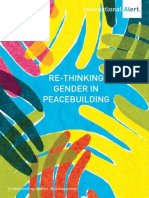 Gender Rethinking, Gender Peacebuilding  2014 (1)