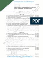 Advanced Computer Architectures Jan 2014 (2006 Scheme)