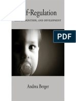 Andrea Berger Self-Regulation Brain, Cognition, And Development Human Brain Development Series