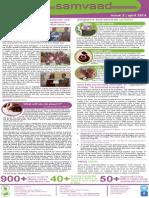 Seva Setu's 2nd Bulletin