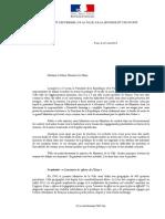 Lettre de Najat Vallaud-Belkacem adressée aux maires en politique de la ville