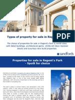 Regents Park Property Types