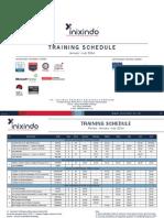 Training Schedule Inixindo Periode Jan-Jul 2014