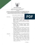 Surat Keputusan KPU N0 354/2014 Tentang Perubahan Penetapan Rekapitulasi DPT
