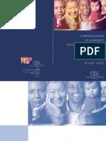 Brochure Csa Representation minorities minorités