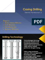 Casing Drilling